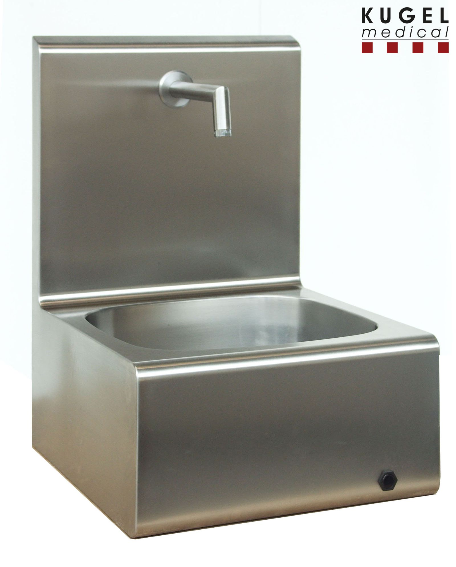 Wall Mounted Stainless Steel Sink Kugel Medical