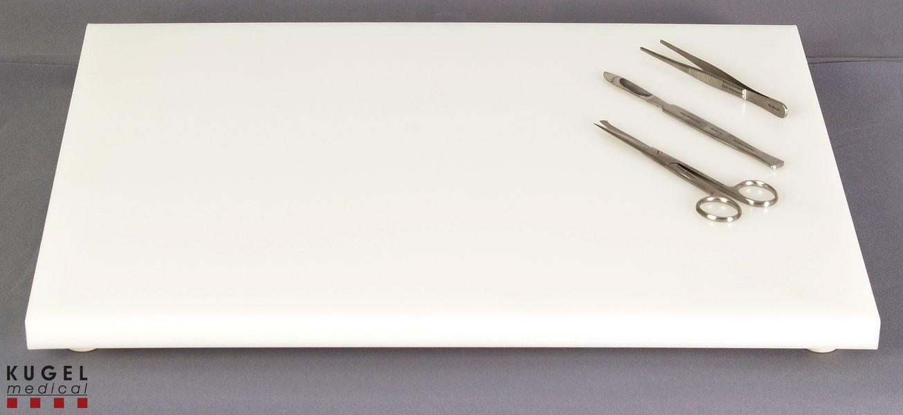 schneidebrett aus pe material kugel medical. Black Bedroom Furniture Sets. Home Design Ideas