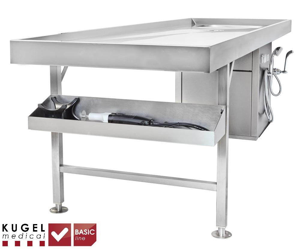 Autopsy Table St 10 350 Basic Line Kugel Medical
